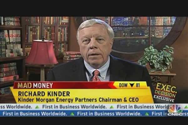 Kinder Morgan CEO: Nat Gas Is Cheap, Abundant