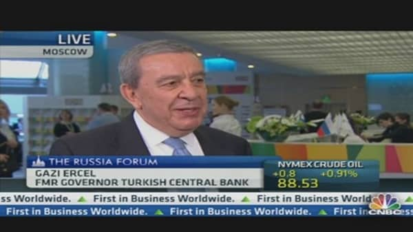 Turkey's Ercel: No Concrete Results of Central Bank Action