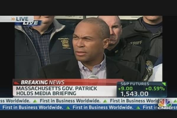Gov. Patrick: This is an Active Manhunt