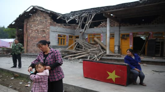 Earthquake Hits China's Sichuan Province