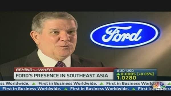 Ford Kicks Into High Gear at Shanghai Auto Show