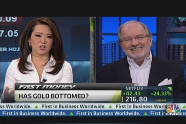 Where Gold Prices Bottom: Dennis Gartman