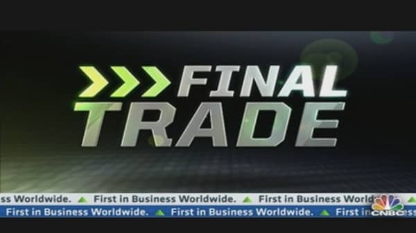 Fast Money Final Trade