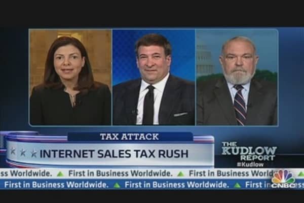 Internet Sales Tax Rush