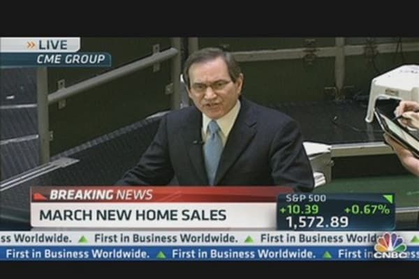 New Home Sales Up 1.5% in March