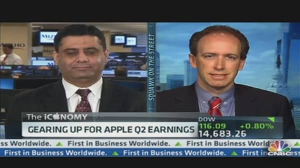 Analysts Gear Up For Apple's Q2 Earnings