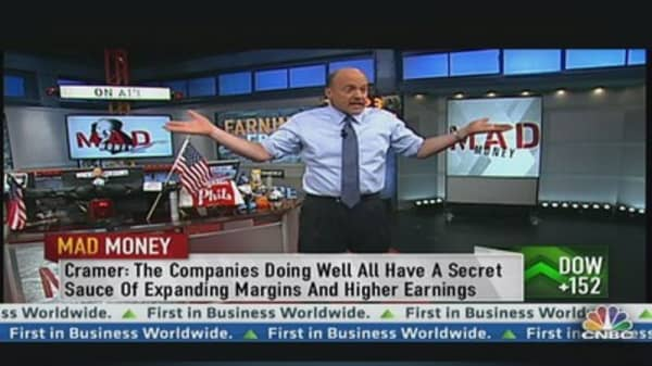 Cramer Talks Earnings Season