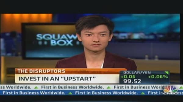 How to Invest in an 'Upstart'