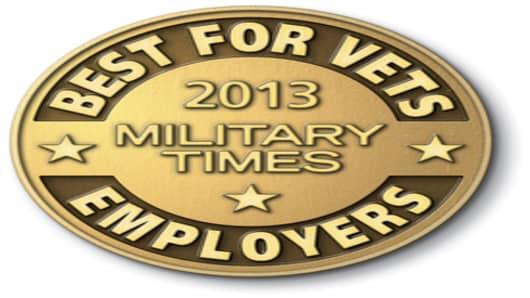 Best for Vets Employers 2013 logo