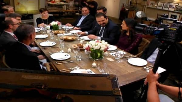 Seat at the Table: Disruption Comes to Dinner