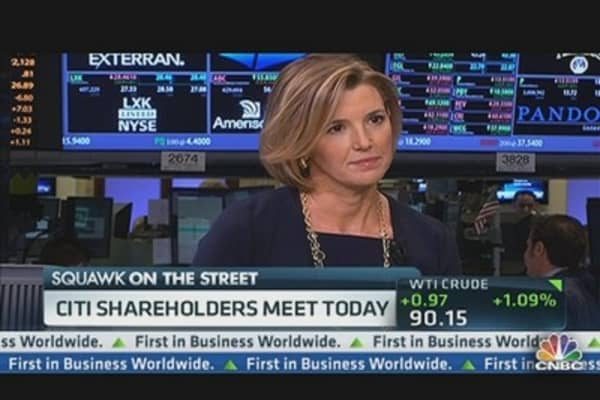 What Citi Shareholders Want to Hear From Corbat