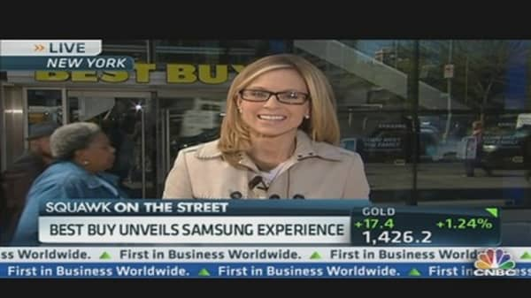 Best Buy Unveils Samsung Experience