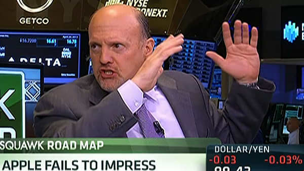 Cramer:  Apple Management 'Now Despised'