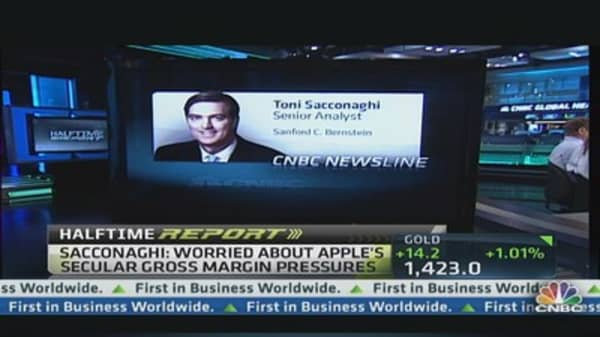 Why Apple's Still a 'Buy': Toni Sacconaghi
