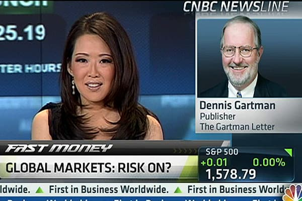 'I'd Buy Chinese Stocks': Dennis Gartman