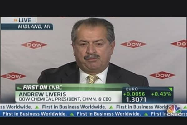 Dow Beats on Earnings But Light on Revenue