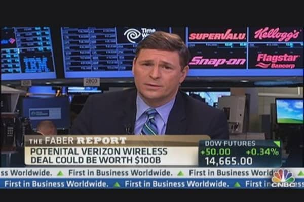 Verizon Eyes Bid For Verizon Wireless: Report