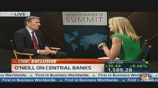Goldman's O'Neill:  OK for Central Banks to Buy Equities