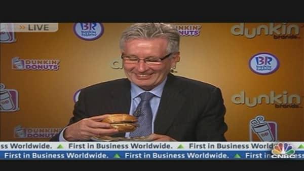 Dunkin' Brands CEO Talks Q1 Results