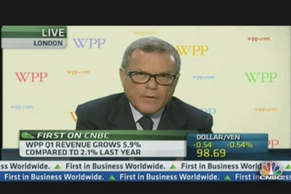 WPP CEO: We're Not Proud of 2-3% Growth