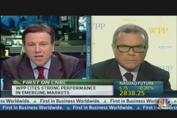 Austerity Is Not Real: WPP CEO
