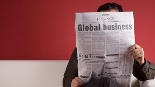Global business economy markets finance