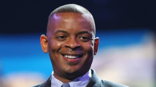 Anthony Foxx, Mayor of Charlotte, North Carolina.