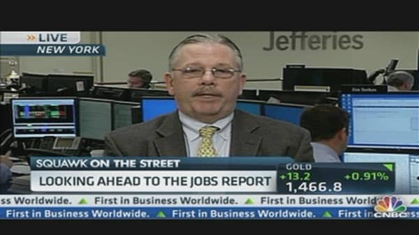 Friday's Jobs Report Preview