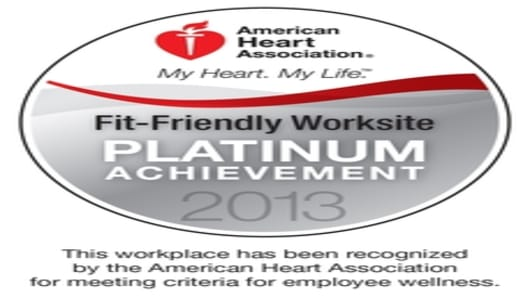 AHA Platinum Achievement Award