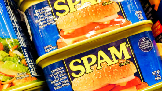 Spam food products