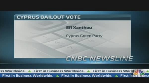 Cypriot Parliament Votes On Bailout