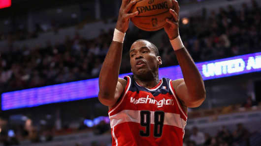 Jason Collins becomes the first openly gay athlete currently playing professional sports in the U.S.