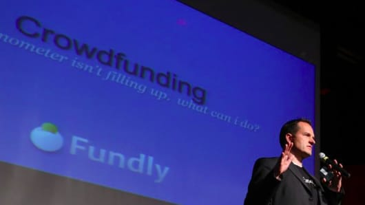 Dave Boyce, customer experience officer for Fundly, a crowdfunding site for causes and nonprofits.