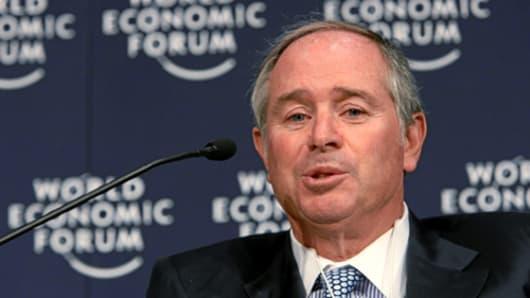 Stephen A. Schwarzman, Chairman and CEO, The Blackstone Group, USA.