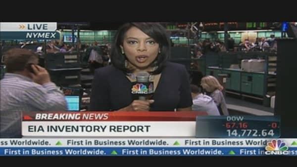 Crude Oil Inventories Up 6.7M Barrels