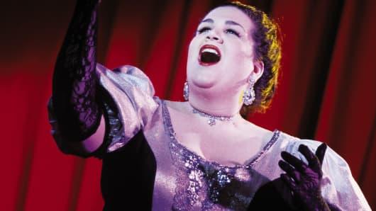 Opera singer music