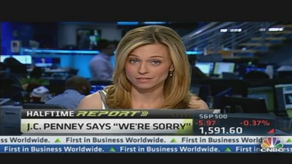 JC Penney's Says 'We're Sorry'
