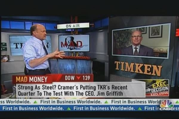 Timken CEO: Aerospace & Trucking Orders Picking Up