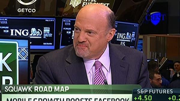 Cramer on Facebook's 'Amazing' Quarter