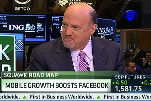 Cramer on Facebook's 'Amazing' Quarter