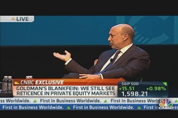 Blankfein Takes Questions at ICI Conference
