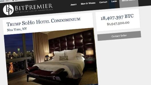 Real Estate for sale using bitcoins on BitPremier.com