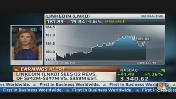 LinkedIn Reports Earnings