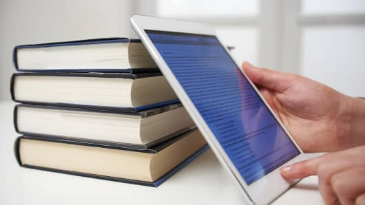 tablet books e-reader