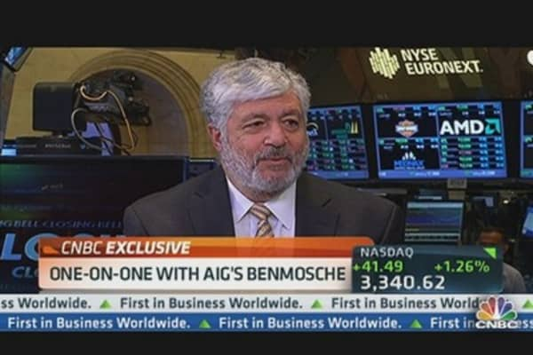 AIG's Benmosche: Regulation Already Made a Big Difference