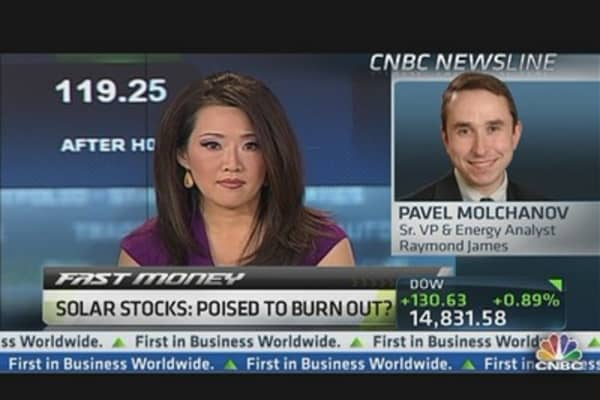 Solar Stocks Overbought?
