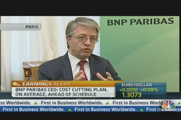 BNP Paribas CEO: We've Kept Cost of Risk Under Control