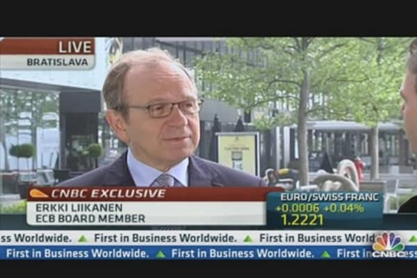 ECB's Liikanen: We're Ready and Able to Act