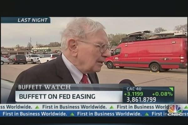 Buffett on Fed Easing