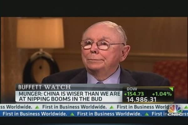 Munger Compares Fed Heads Old and New